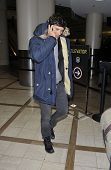 Los Angeles - January 25: Actor Orlando Bloom Is Seen At Lax. Ja