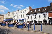 Pavement cafes, Warwick.