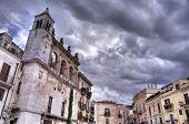 Mercantile Square. Bari. Apulia.