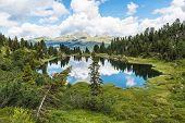 Small Lake Of Colbricon, Dolomites
