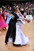 Ballroom dance couple