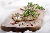 Smoked Cod With Thyme And Spices