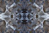 Kaleidoscope Ice Pattern