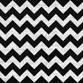 stock photo of chevron  - Closeup burlap jute canvas vintage chevron zigzag textured background - JPG