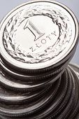 foto of zloty  - Polish money  - JPG