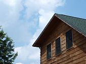 Log Cabin Roofline
