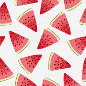 picture of watermelon slices  - Slices of watermelon - JPG