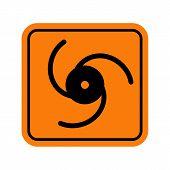 image of hazard  - Vector icons - JPG