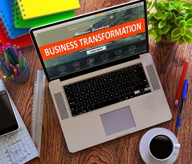 picture of transformation  - Business Transformation Concept - JPG