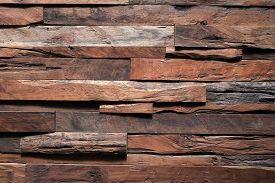 stock photo of barn house  - timber wood barn texture industry background - JPG