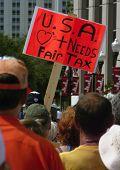 Tax Rally