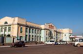 Central railway station. Ulan-Ude