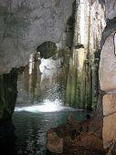 Big Splash In Caves