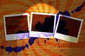 Grunge Abstract Background Beams Photo Blots.