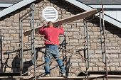 Construction - Stone Mason 4 (Scaffolding)