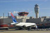 Airplane At Terminal
