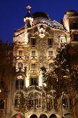 Casa Batlló en la noche