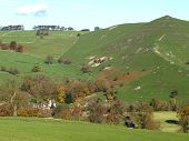 Autumn At  Ilam In The Peak District National Park