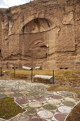 Terme Di Caracalla In Rome