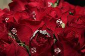 Bouquet de noiva com diamantes