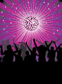 stock photo of club party  - Nightlife in the disco club - JPG