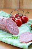 Prato de salsicha