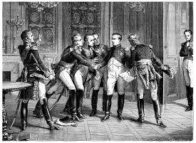 pic of bonaparte  - Abdication of napoleon - JPG