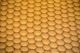 image of honeycomb  - Natural honeycomb pattern - JPG