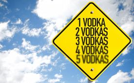 foto of vodka  - 1 Vodka - JPG