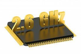 picture of cpu  - CPU chip for smatphone and tablet 2 - JPG