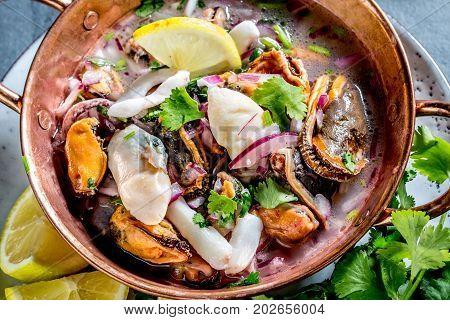 Peruvian Latin American Seafood Shellfish