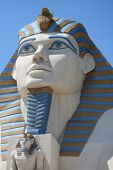 Sphynx Close-Up At The Luxor