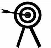 Bullseye Art Illustration