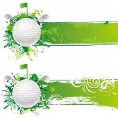 vector golf design element