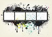 design element for movie theme