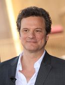 HOLLYWOOD - JAN 13:  Colin Firth actor Colin Firth receives star on walk of fame  on January 13, 2011 in Hollywood, CA
