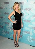 PASADENA , CA - JAN 11:  Heather Morris arrives at the FOX All-Star Party on January 11, 2011 in Pasadena, CA