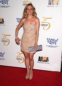 LOS ANGELES - MAR 19: Sally Pressman arrives to the 25th Annual Genesis Awards  on March 19, 2011 in
