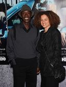 LOS ANGELES - MAR 22:  Don Cheadle & Bridgid Coulter arrive to 'His Way' Los Angeles Premiere  on Ma