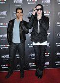 LOS ANGELES - APR 11:  Eli Roth & Marilyn Manson arrives to