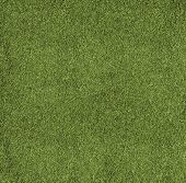 The texture of the herb cover sports field. It is used in baseball, football, cricket, rugby, tennis