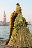 Elegant Green Angel