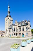 town hall of Bailleul, Nord-Pas-de-Calais, France