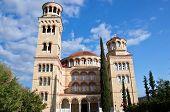 Cathedral Saint Nectarios of Aegina. Aegina, Greece