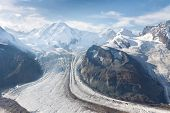 Gorner Glacier (gornergletscher), Swiss Alps