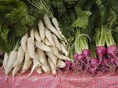 Produce - Organic Daikon And Beets
