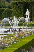 Gardens And Fountains At Palace Versailles