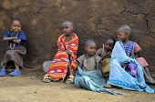 Poor children in Kenya