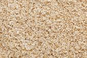 psyllium seed husks - dietary supplement, source of soluble fiber, macro texture background