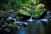 Stream & waterfall